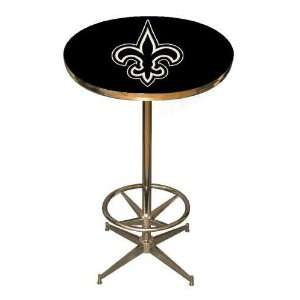 Saints NFL 40in Pub Table Home/Bar Game Room