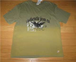 PIPES BOYS X LARGE 18 Olive Green TWO TONE Shirt SoooCOOL