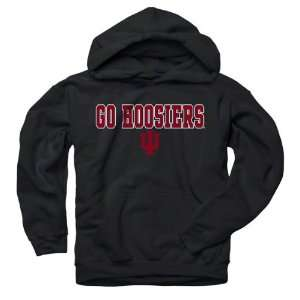 Hoosiers Youth Black Lingo Hooded Sweatshirt