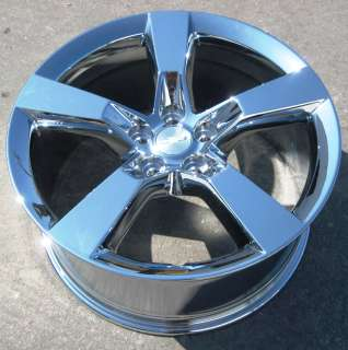 STOCK 4 NEW 20 FACTORY CHEVROLET CAMARO SS 20 OEM CHROME WHEELS RIMS