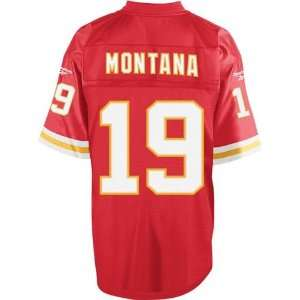Joe Montana Gridiron Classic Throwback Jersey   Kansas