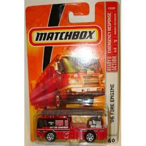 MatchBox #60 06 Fire Engine, Emergency Response Series Toys & Games