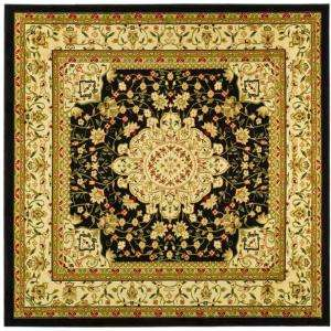 Safavieh Lyndhurst Black/Ivory 8 Ft. x 8 Ft. Square Area Rug LNH213A