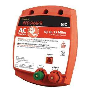 Red Snapr AC Powered 15 Mile Fence Energizer 66C