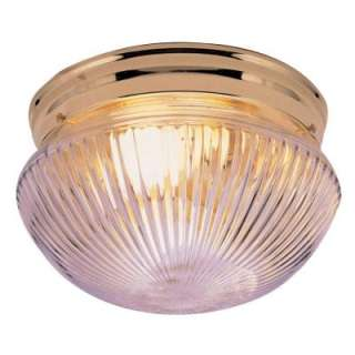 Hampton Bay 2 Light Flush Mount Ceiling Light HB1076 01 at The Home