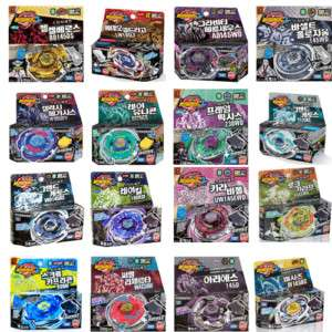 Toupie BeyBlade Metal Fusion Fight Starter Pack Lot Set