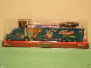TERRY LABONTE # 5 KELLOGS TRANSPORTER TRUCK WITH CAR