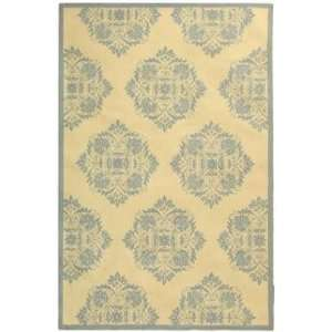 Chelsea   HK359A Area Rug   8 Round   Ivory, Blue