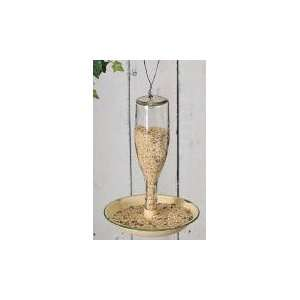 Glass Jar Bird Feeder   Buffet Style Patio, Lawn & Garden