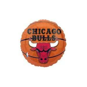 18 NBA Chicago Bulls Basketball Balloon   Mylar Balloon