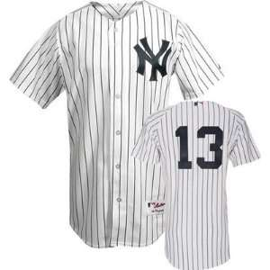 Alex Rodriquez #13 New York Yankees (Med.) Majestic Authentic Home