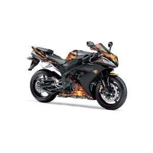 2005 Yamaha R1. Street Bike Graphic Decal Wrap Kit   F Automotive