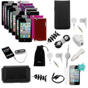 Accessories Bundle kit for Apple iPod Touch 4G / 4th / 4 Generation