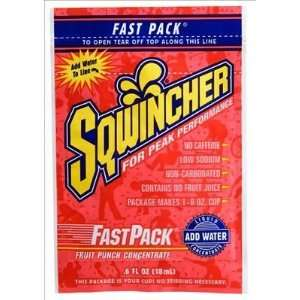 Sqwincher Fruit Punch Fast Pack Liquid Grocery & Gourmet Food