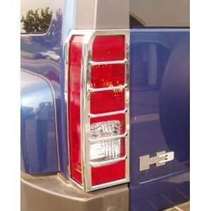 Putco Chrome Tail Lamp Covers, for the 2007 Hummer H3 Automotive