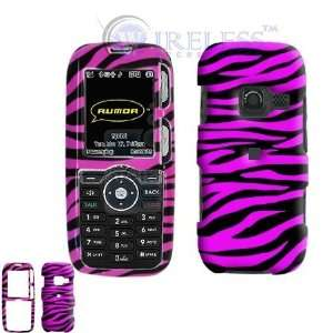 LG LX260 Rumor Scoop Cell Phone Hot Pink/Black Zebra