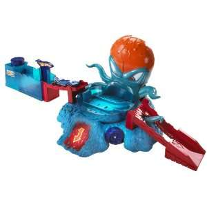 Hot Wheels Color Shifters OctoBattle Playset  Toys & Games