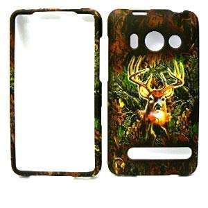 com HTC EVO 4G Deer CAMO CAMOUFLAGE HUNTER HARD PROTECTOR COVER CASE