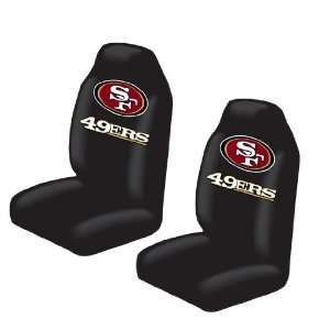Bucket Seat Covers   NFL Football   San Francisco 49ers