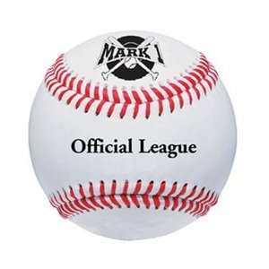 Mark 1 Official League Leather Baseball (1Dozen) Sports