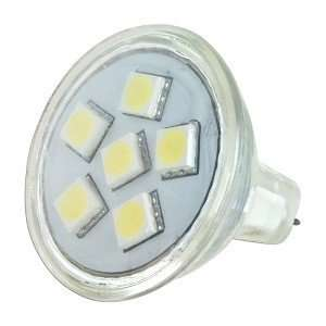 12V AC/DC 6 White SMD LED Spotlight Light Bulb Electronics