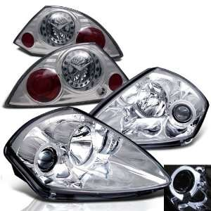 Mitsubishi Eclipse Halo Projector Head + LED Tail Lights Brand New Set