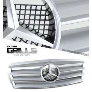 96 99 Mercedes Benz W210 Sport Grill   Chrome Painted CL