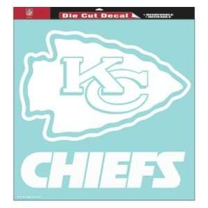 Kansas City Chiefs NFL Die Cut Decal