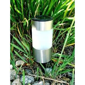Stainless Steel Tube Solar Light (Short) Patio, Lawn & Garden