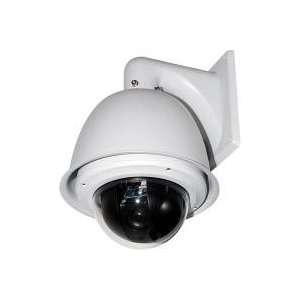 Pan Tilt Zoom Speed Dome Camera, Wall Mount WDR 24v P.Scan Camera