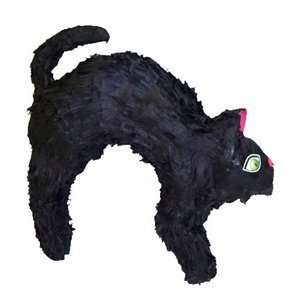 Halloween Black Cat Pinata Party Game  Toys & Games