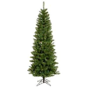 4.5 Pre Lit LED Salem Pine Pencil Artificial Christmas Tree