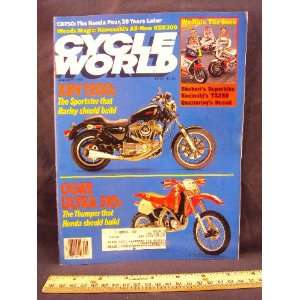 1989 89 January CYCLE WORLD Magazine (Features Road Test