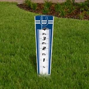 NFL Indianapolis Colts Rain Gauge