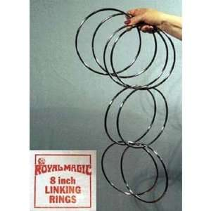 Linking Rings Magic Trick Toys & Games