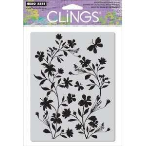 Silhouette Vines   Cling Rubber Stamps Arts, Crafts & Sewing