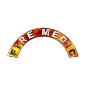 com Fire Medic Real Fire Firefighter Fire Helmet Arcs / Rocker Decals