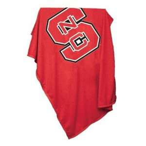 North Carolina State Wolf Pack Sweatshirt Blanket  Sports