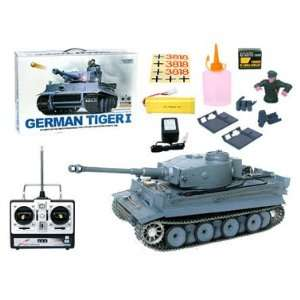German Tiger I Airsoft Battle Tank with Smoke and Sound Toys & Games
