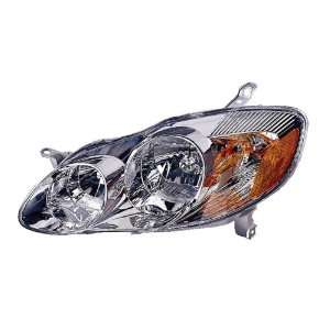 TOYOTA COROLLA HEADLIGHT LEFT (DRIVER SIDE) (CE,LE MODEL