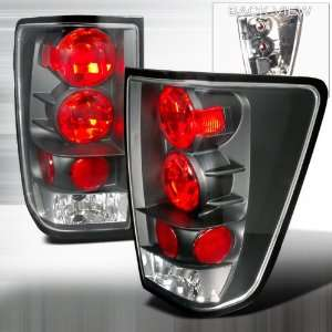 04 Up Nissan Titan Altezza Tail Lights Black Automotive