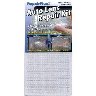 Auto Head Light and Tail Light Housing Lens Repair Kit, Crystal Clear