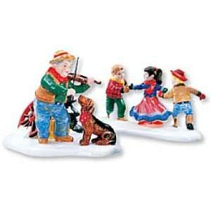 At The Barn Dance, Its Allemande Left (Set of 2