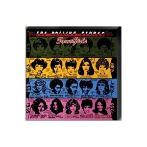 Rolling Stones Some Girls giclee print on canvas, 36 x