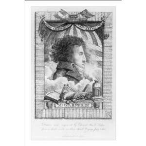 Historic Print (M) M. Garnerin / drawn and engraved by