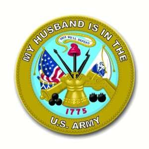 United States Army My Husband is in the Army Seal Decal