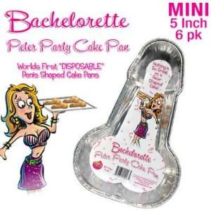 Bundle Bachelorette Party Cake Pan Small and Aloe Cadabra Organic Lube