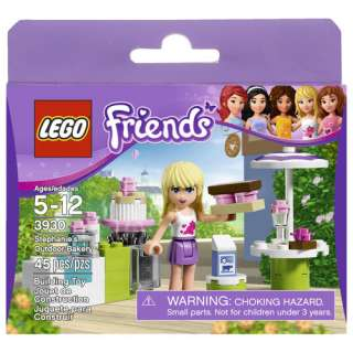 LEGO Friends Stephanies Outdoor Bakery Building Blocks & Sets