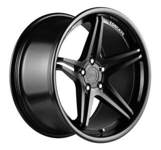 20 VERTINI MONACO BLACK RIMS WHEELS BMW E90 E92 328 335 528 535 550