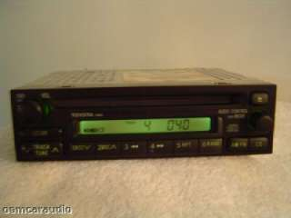 Toyota COROLLA RAV4 Radio CD Player 86120 08020